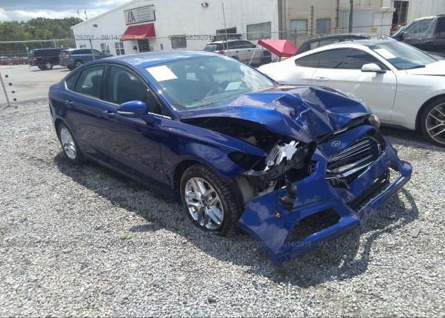 Inventory #620348101 2013 FORD FUSION