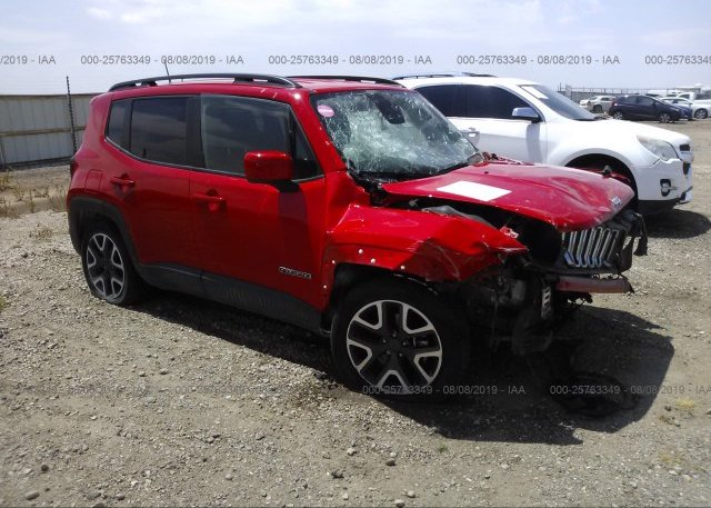 Inventory #815069021 2018 JEEP RENEGADE