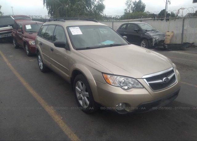 Inventory #173296650 2008 Subaru OUTBACK