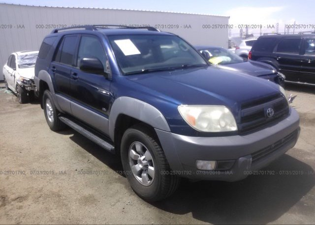Inventory #727087983 2003 Toyota 4RUNNER