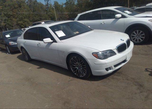 Inventory #724909468 2007 BMW 750