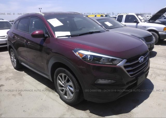 Tucson Car Auction >> Km8j33a43ju641597 Original Maroon Hyundai Tucson At