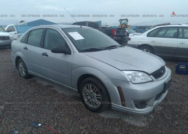 Inventory #800425821 2007 FORD FOCUS