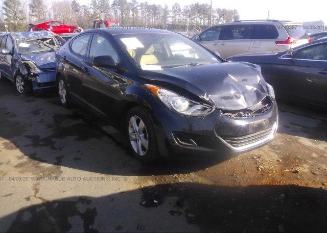 Inventory #712463502 2013 Hyundai ELANTRA