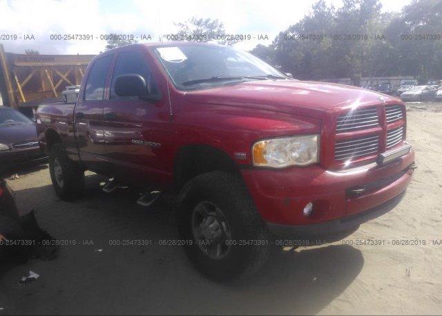 Inventory #599749730 2003 Dodge RAM 2500