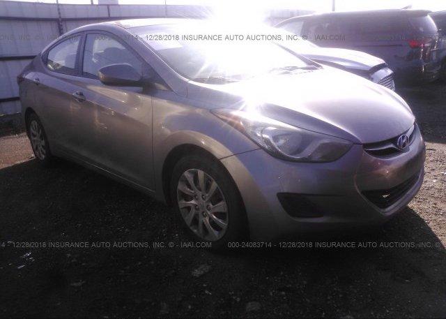 Inventory #417436938 2011 Hyundai ELANTRA