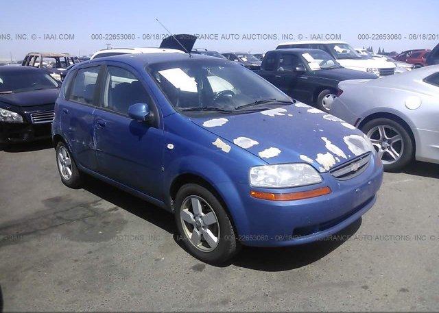 Inventory #623474487 2008 Chevrolet AVEO