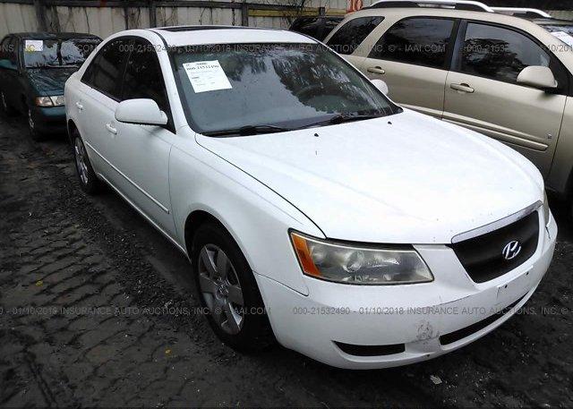 Inventory #413387448 2008 Hyundai SONATA