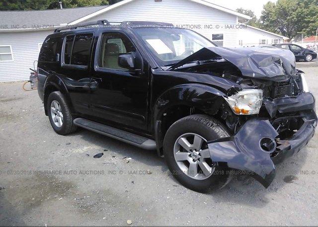 5n1ar18b18c614728 Salvage Black Nissan Pathfinder At New