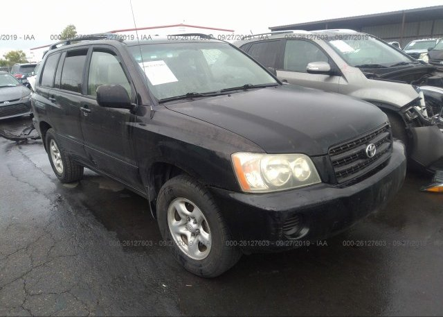 Inventory #117762498 2002 Toyota HIGHLANDER