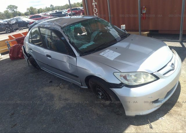 Inventory #656082913 2004 Honda CIVIC