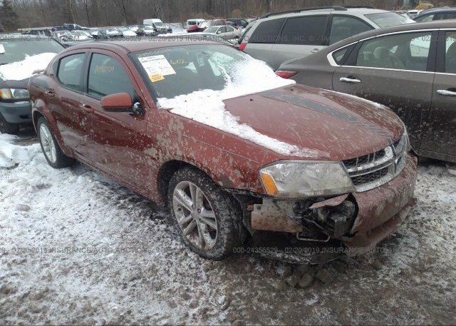 Inventory #301062827 2012 Dodge AVENGER