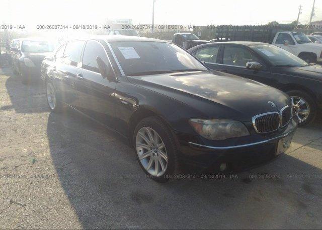 Inventory #270599059 2006 BMW 750