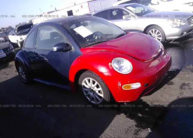 Inventory #779800334 2004 Volkswagen NEW BEETLE