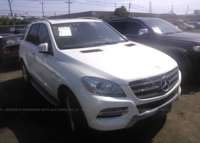 Inventory #458452375 2012 Mercedes-benz ML