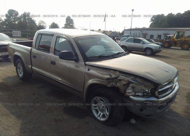 Inventory #330785482 2002 Dodge DAKOTA