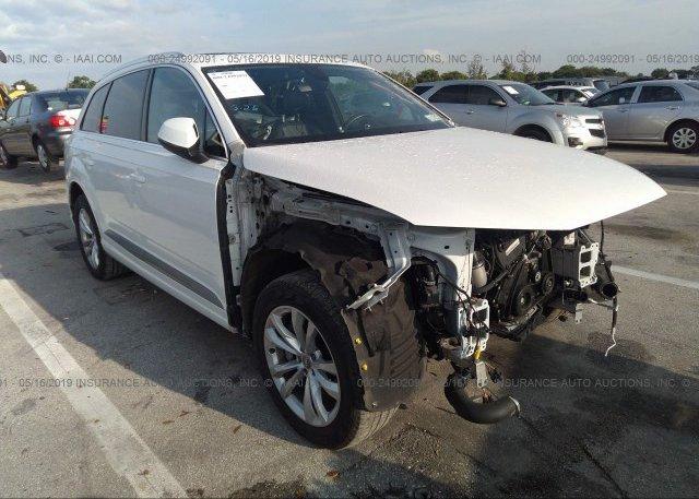 WA1LHAF78HD052040, Rebuildable white Audi Q7 at PEMBROKE