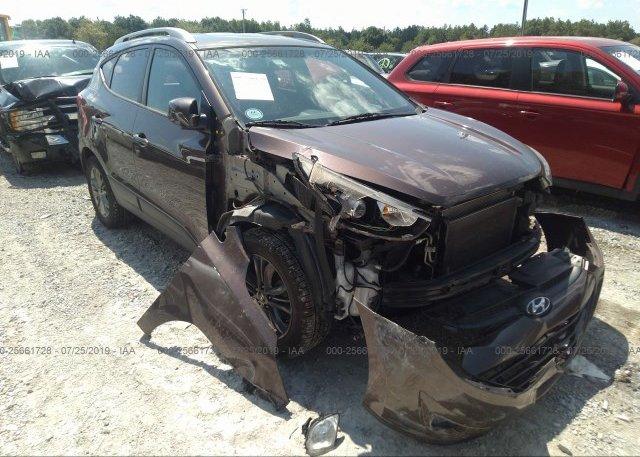 Inventory #539702435 2014 Hyundai TUCSON