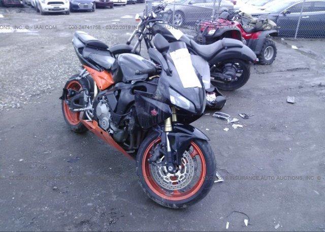 Inventory #447779260 2005 Honda CBR600