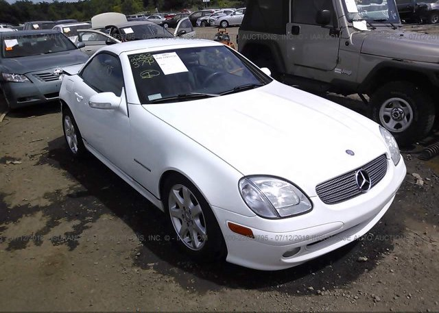 Inventory #822571780 2001 Mercedes-benz SLK