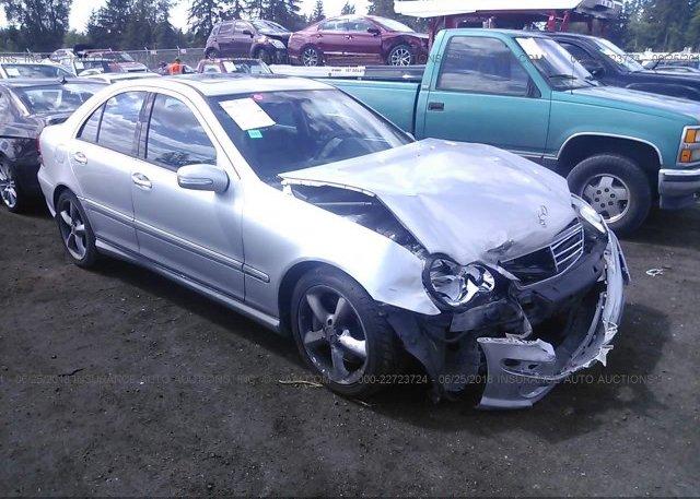 Inventory #704071825 2006 Mercedes-benz C GENERATION 2006