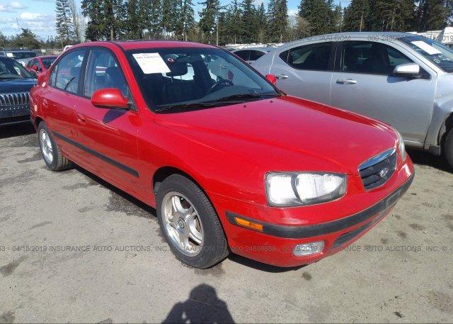 Inventory #227389675 2003 Hyundai ELANTRA