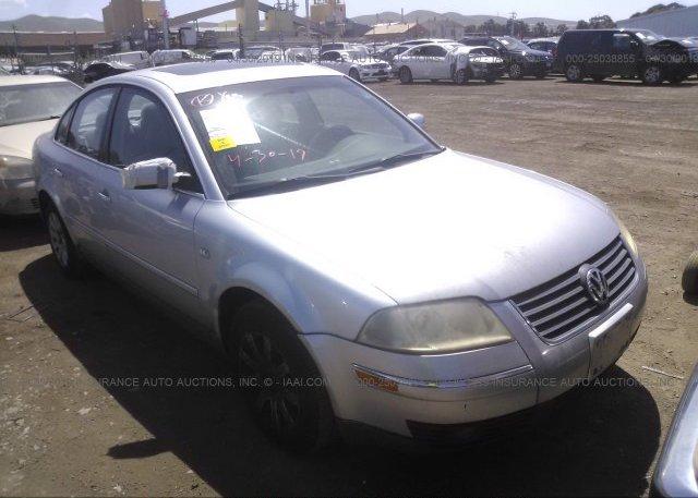 Inventory #419550967 2002 Volkswagen PASSAT
