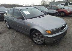 2005 BMW 325 - WBAEU33435PR18315 Left View