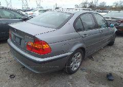 2005 BMW 325 - WBAEU33435PR18315 rear view