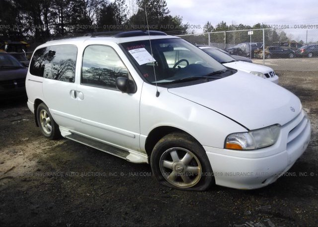 Inventory #540884105 2001 NISSAN QUEST