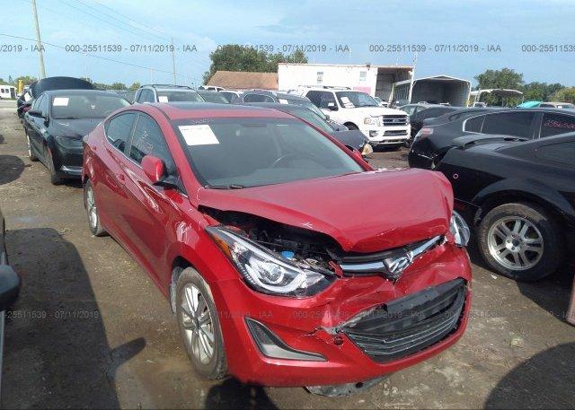 Inventory #145888449 2015 Hyundai ELANTRA