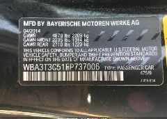 2014 BMW 435 - WBA3T3C51EP737006 engine view