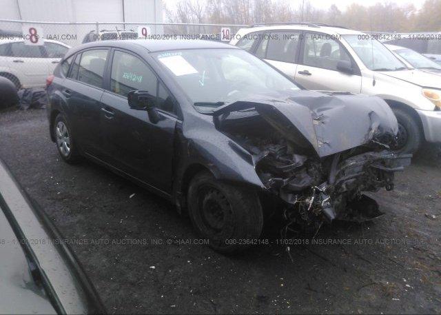Inventory #561231139 2012 Subaru IMPREZA