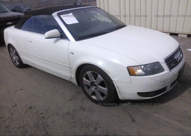 WAUDT48HX6K009101 Clear White Audi A4 At PHOENIX AZ On Online