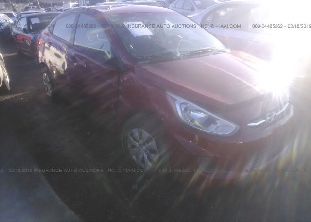 Inventory #772108527 2016 Hyundai ACCENT