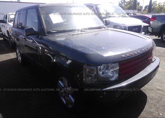 Inventory #413278102 2004 Land Rover RANGE ROVER