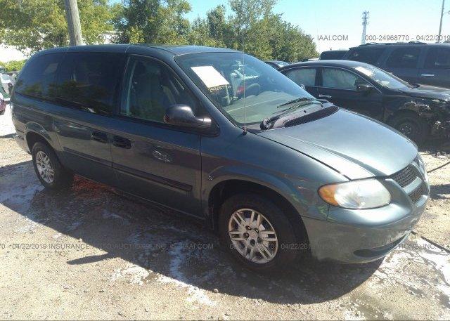 Inventory #853370231 2005 Dodge GRAND CARAVAN