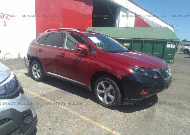 Inventory #463185326 2012 Lexus RX