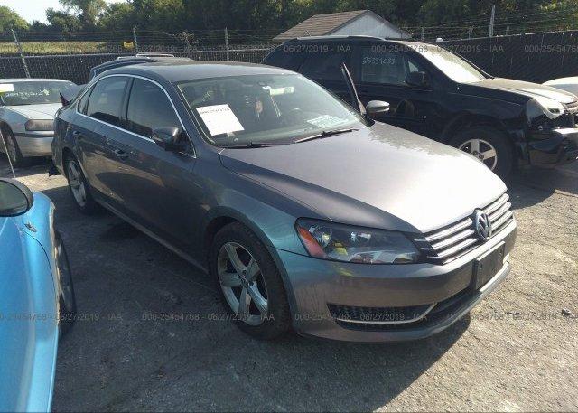 Inventory #935358385 2013 Volkswagen PASSAT