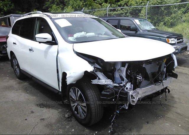 5n1dr2mm0hc672713 White Nissan Pathfinder At Dundalk Md On Online