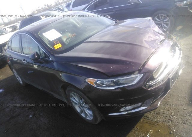 Inventory #590497954 2017 FORD FUSION