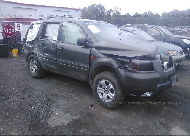 Inventory #833276013 2006 Honda PILOT