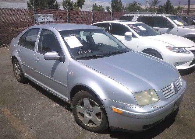 Inventory #103783488 2002 Volkswagen JETTA