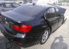 2014 BMW 320 - WBA3B1C5XEP679839 rear view