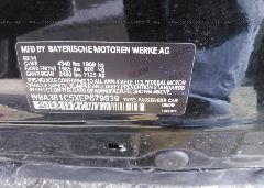 2014 BMW 320 - WBA3B1C5XEP679839 engine view