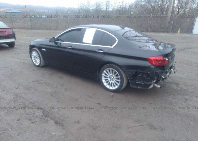 купить 2013 BMW 5 SERIES WBAFU7C55DDU70518