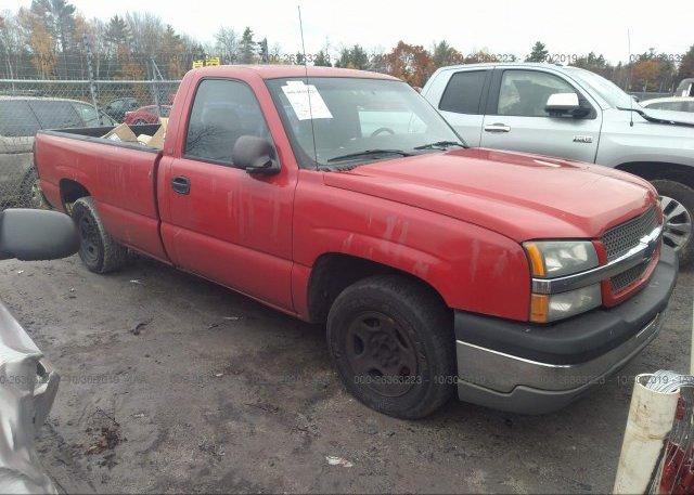 Inventory #495705201 2004 Chevrolet SILVERADO