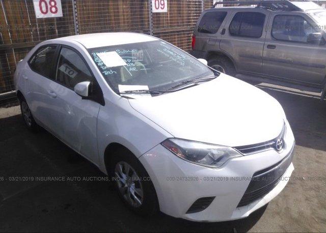 Inventory #700807361 2015 Toyota COROLLA