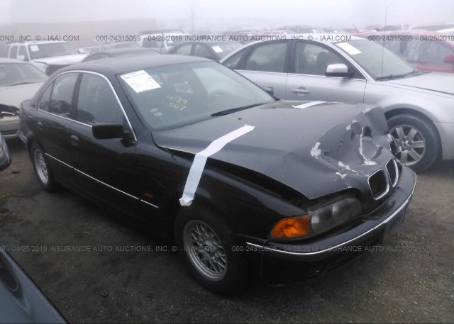 Bidding Ended On Wbadd632xvbw17517 Salvage Bmw 528 At Davenport