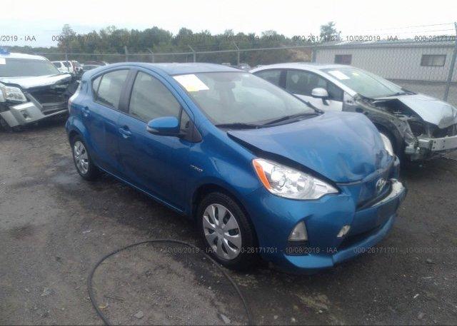 Inventory #458583174 2014 Toyota PRIUS C